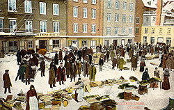 Market scene, c.1900. (Photo - Farfan Collection)